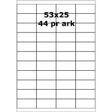 100 ark 30303001 Aftagelige Papir Labels