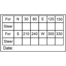 Ark 25x44-PRT01 Vi printer Typeskilte