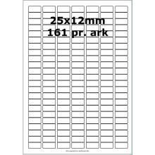 100 ark 31800016 Hvid papir Bredde 00-30mm