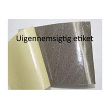 100 ark 38A21PPOP1 Uigennemsigtige Papir Labels