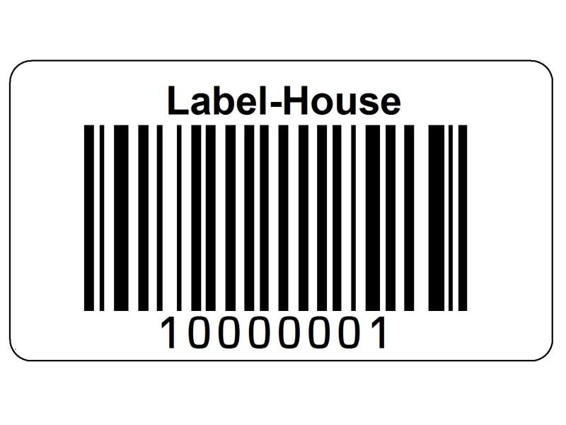 Stk. Serie-29x13H1 Fortløbende stregkode nr
