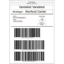 Print af palle etiket