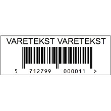 Stk. 38x15-PRN02 Varemærkning