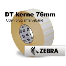10 ruller 38R25DT5-76Z Hvid DT Kerne 76mm