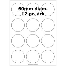 25 ark 60ARGF3-25 Højglans Polypropylene (PP)