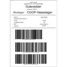 GS1 PalleLabel