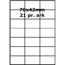 100 ark 70A42PF1 PolyFast -Volume køb