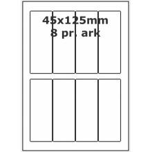 100 ark 45x125-4-PF PolyFast -Volume køb