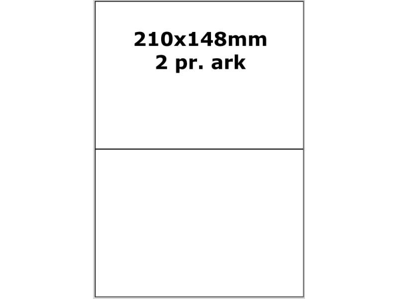 100 ark 210A148RP3 Dæk Labels A4