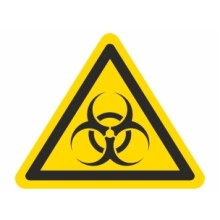 1 rulle WS3-12-BI Advarsel: Biologisk fare