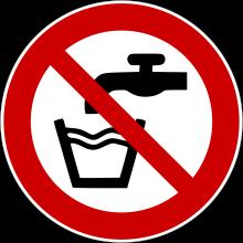 1 Rulle PS3-50-DW Forbudt: Drikke vand