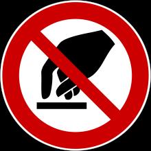 1 Rulle PS3-100-NC Forbudt: Ingen berøring