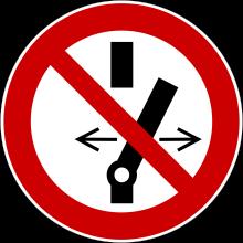 1 Rulle PS3-20-DS Forbudt: Tryk ikke på kontakt