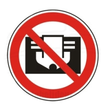 1 Rulle PS3-20-DC Forbudt: Overdæk ikke
