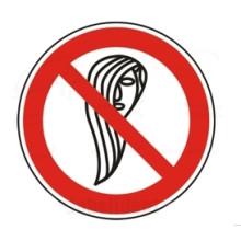 1 Rulle PS3-100-LH Forbudt: Langt hår
