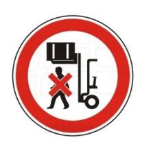 1 Rulle PS3-75-RL Forbudt: Ophold under ophævet last