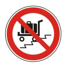 1 Rulle PS3-50-EX Forbudt: Brug af vogn på rulletrappe