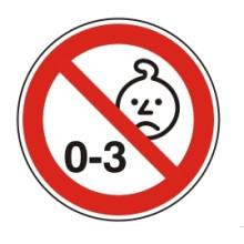 1 Rulle PS3-20-BU Forbudt: Børn under 3 år