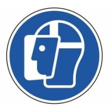 1 Rulle MS3-50-FS Påbud: Ansigtsskjold
