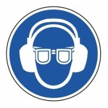 1 Rulle MS3-20-EE Påbud: Øjne og øre beskyttelse