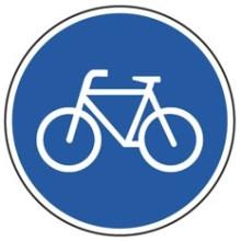 1 Rulle MS3-200-BZ Påbud: Brug cykelstien