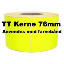 1 rulle 100R100TT3-76Y Gule Papir Labels TT 76