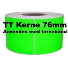 1 rulle 102R152TT3-76G Grønne Papir Labels TT 76