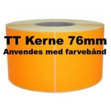 1 rulle 100R50TT3-76O Orange Papir Labels TT 76