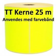 1 rulle 30R15TT3-25Y Gule Papir Labels TT 25