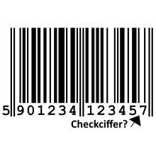 Stk. Checkciffer Varemærkning