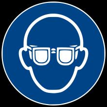 1 Rulle MS3-100-EP Påbud: Beskyttelsesbriller