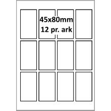 25 ark 45A80GPP1 Højglans Papir Inkjet Printer Bredde 31-60mm
