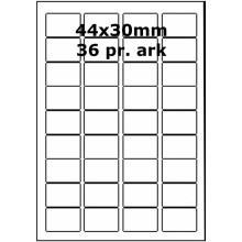 25 ark 44A30GPP1 Højglans Papir Inkjet Printer Bredde 31-60mm
