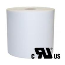 2 ruller 13R11W3-25B Hvid Polyester Kerne 25 mm