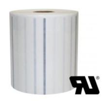 2 ruller 80R40T3-25 Transparent Kerne 25 mm