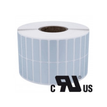 1 rulle 38R6SP3-76 Sølv Polyester Kerne 76 mm