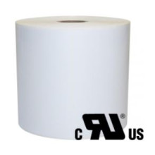 1 rulle 19R6W3-25 Hvid Polyester Kerne 25 mm