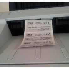 1000 stk 9x7,5-4-W Pinfeed Polyester til laser