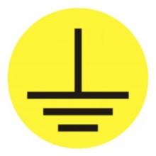 1 rulle CAE3-571K10 Ground Symbol kabel