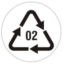1 rulle EAR3-RE02-020T Øko og Genbrug