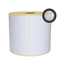 2 ruller 105R74RP3-25 Hvid Papir -Extreme klæber TT Kerne 25
