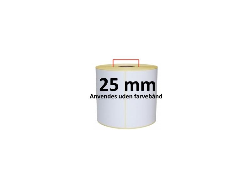 1 rulle 38R25DTU3-25H Hvid DT Kerne 25mm
