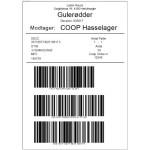 Stk Skabeloner GS1 Palle softwareløsning