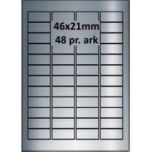 46A21SP3-25 Sølvpolyester Bredde 31-60mm