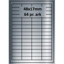 48A17SP3-25 Sølvpolyester Bredde 31-60mm