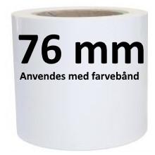 1 rulle 100PE-TT3-76 Kontinuerligt Polyethylenemateriale