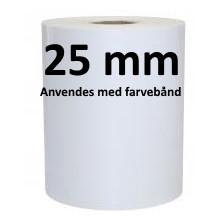 1 rulle 45R36F3-25 Polypropylene TT Kerne 25 mm