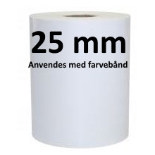 1 rulle 60R40F3-25 Polypropylene TT Kerne 25 mm