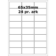 100 ark 31800106 Højglans Papir Laser Printer Bredde 61-90mm