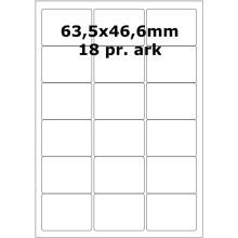 100 ark 31800130 Højglans Papir Laser Printer Bredde 61-90mm